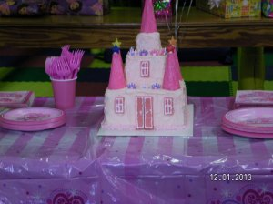 Princes Castle Cake
