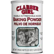 Clabber Girl: Double Acting Baking Powder, 22 Oz