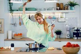 Listen To Music While Baking