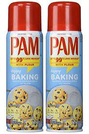 Pam No-Stick Cooking Spray - Happy Baking - With Flour