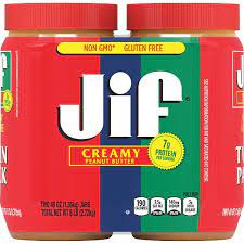 Product of Jif Extra Creamy Peanut Butter
