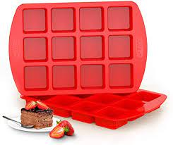 Silicone Brownie Pan with Dividers