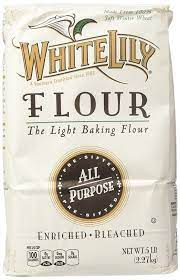 White Lily All Purpose Flour 5 lb Bag (Pack of 2)