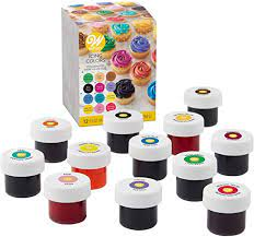 Wilton Icing Colors 12-Piece Gel Food Coloring Set